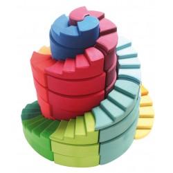 Set spiraal trap