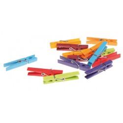 Wasknijpers 14 gekleurd
