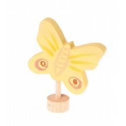 Steker vlinder geel 2015