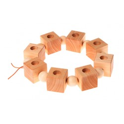 Verjaardag ring kubus of dobbelsteen