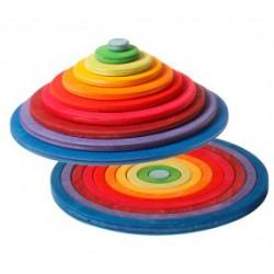 Concentrische cirkels en ringen