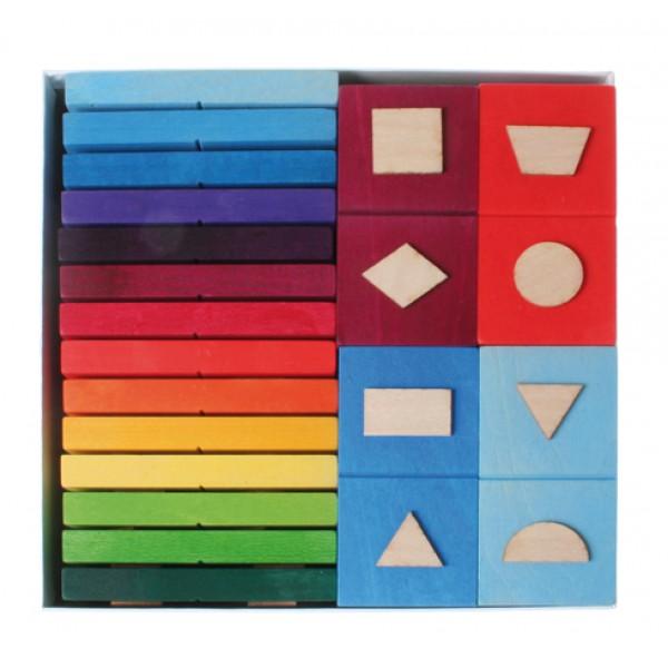 Grimms Domino geometrische vormen