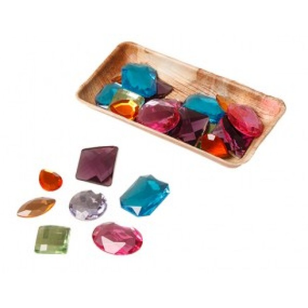 Grimms Glitter stenen 28 stuk groot