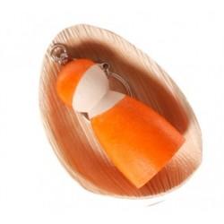 Sleutelhanger vriendje oranje