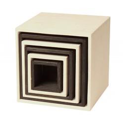 Kistjes groot monochroom zwart/wit