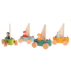 Zeilboot strandzeilers