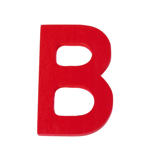 Letter B strak