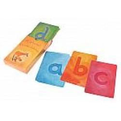Kaarten alfabet A-Z kleine letters