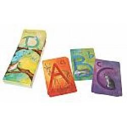 Kaarten alfabet A-Z Engels