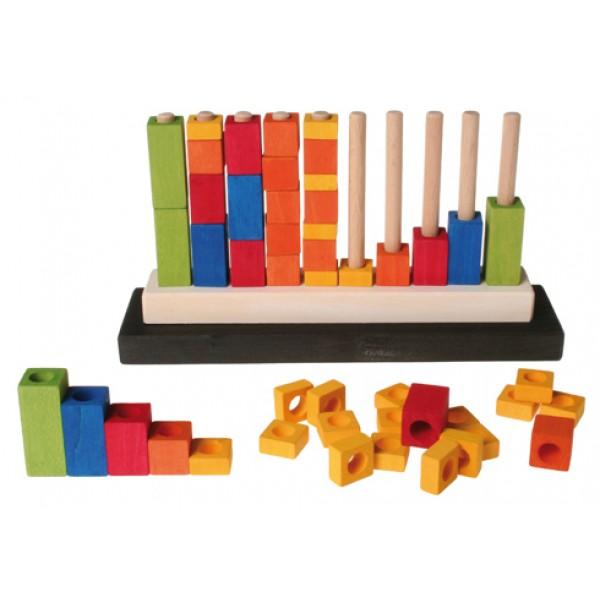 Grimms Stapel spel rekenen en tellen met blokjes