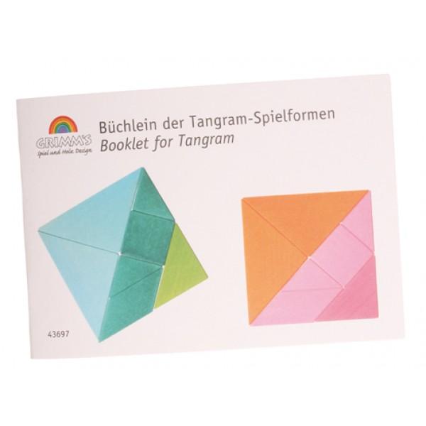 Grimms Tangram boekje met voorbeelden
