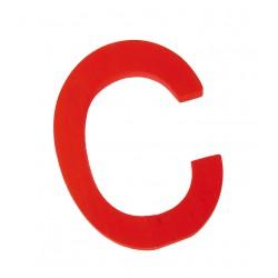 Letter C strak