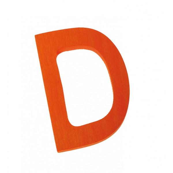 Letter D strak