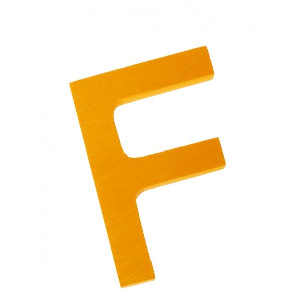 Letter F strak