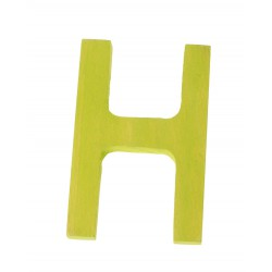 Letter H strak