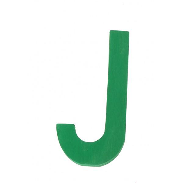 Letter J strak