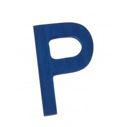 Letter P strak