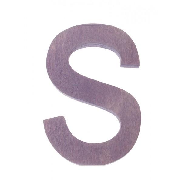 Letter S strak