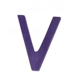 Letter V strak