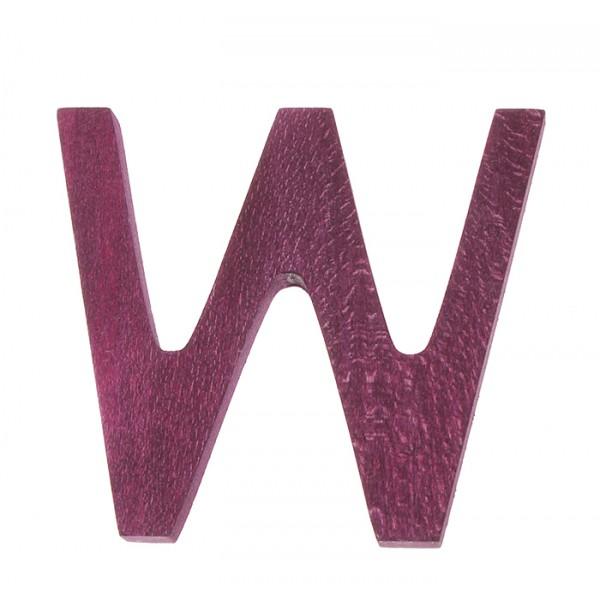 Letter W strak