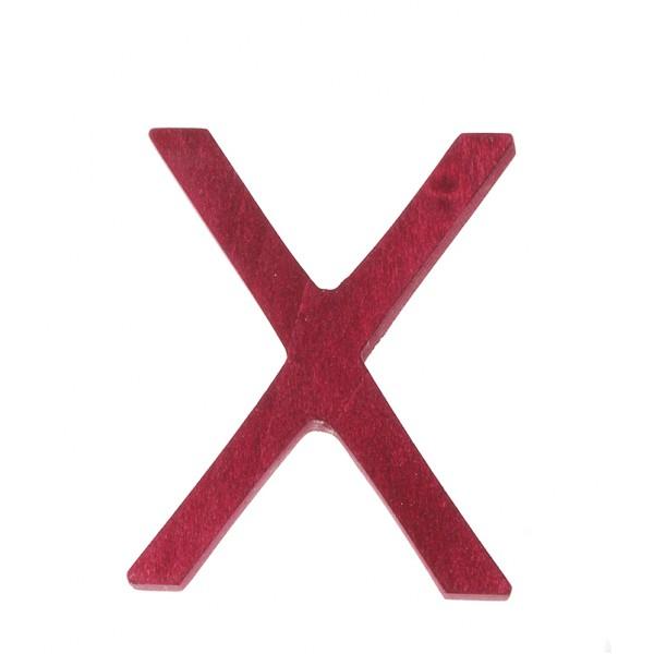 Letter X strak