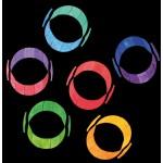 Grimms Magneetpuzzel kleurenspiraal groot