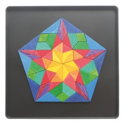 Magneetpuzzel pentagon Vinci