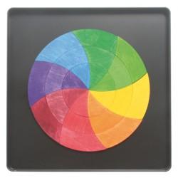 Magneetpuzzel kleurencirkel Goethe