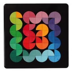 Magneetpuzzel kwart cirkels