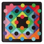 Grimms Magneetpuzzel cirkel in vierkant