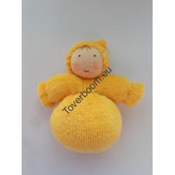 Dwerg meisje geel