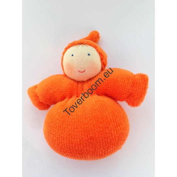 Dwerg meisje oranje