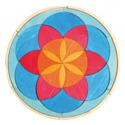 Puzzel mini cirkel zomer