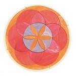 Puzzel mini cirkel herfst