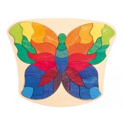 Puzzel vlinder mini