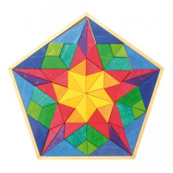 Puzzel mini pentagon Vinci