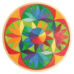 Puzzel mini bloemencirkel