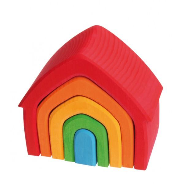 Grimms Huis regenboog