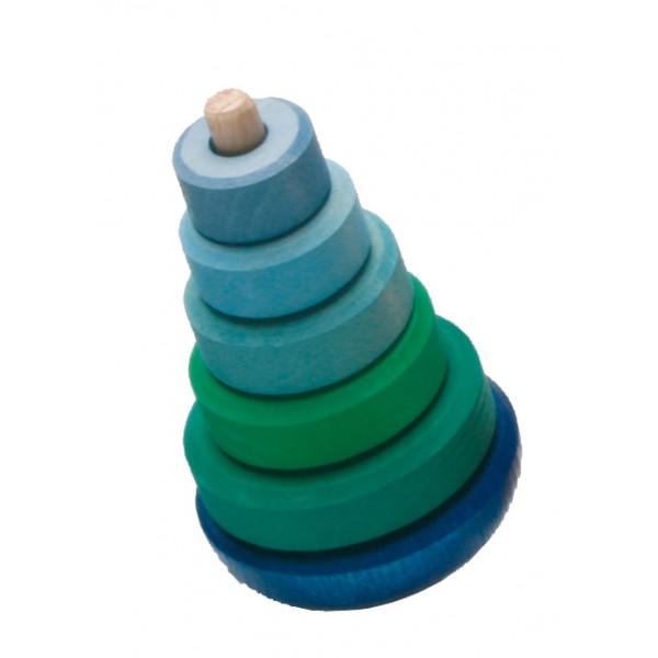 Grimms Toren rond blauw groen