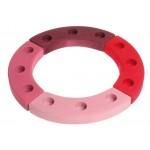 Grimms Jaarring 12 roze rood
