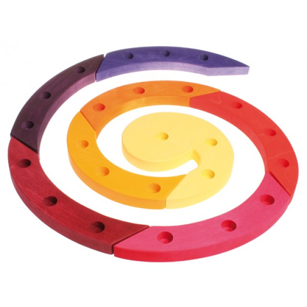 Grimms Spiraal 24 rood paars