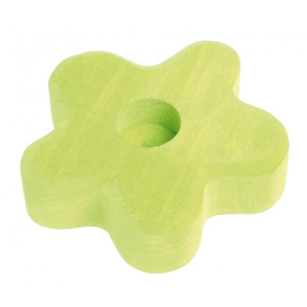 Grimms Kaarsenhouder bloem lichtgroen
