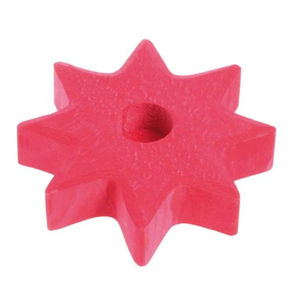 Grimms Kaarsenhouder ster rood