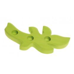 Kaarsenhouder tak licht groen