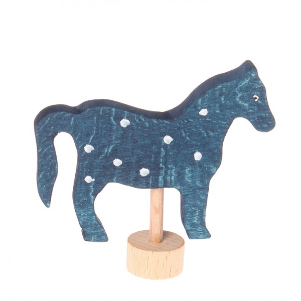 Grimms Steker paard gevlekt