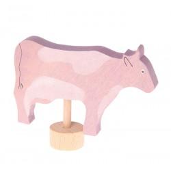 Steker koe gevlekt