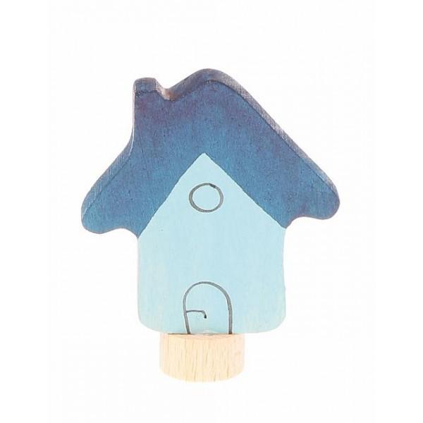 Grimms Steker huis blauw