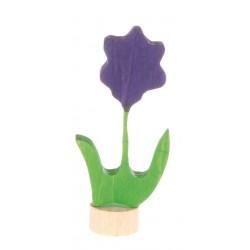 Steker bloem violet