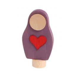 Steker matroesjka hart