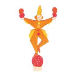 Steker jongleur geel